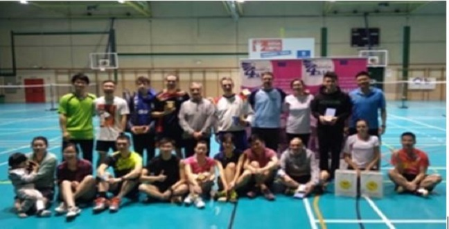 THIRD SPANISH - CHINESE DAY OF INCLUVISVE BADMINTON