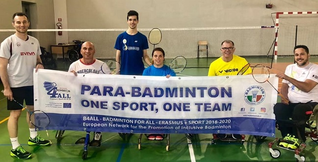 Badminton Italy and its Inclusive forces