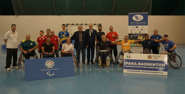 FiBA continues with the inclusive badminton dissemination